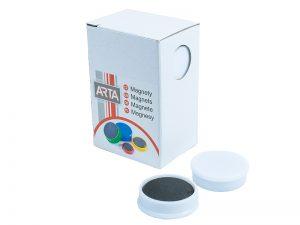Produkt Sada 10 ks magnetov, priemer 25 mm, 7 farieb