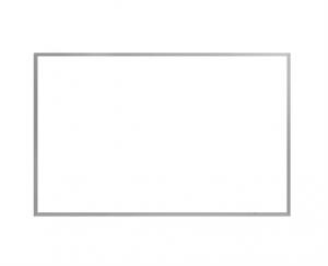 Produkt Biela tabuľa na magnetky v hliníkovom ráme