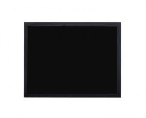 Produkt Čierna tabuľa na magnetky v drevenom čiernom ráme