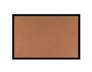 Produkt Korková tabuľa v čiernom drevenom ráme