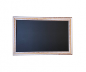 Produkt Čierna tabuľa na magnetky v provensálskom ráme