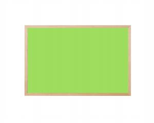 Produkt Limetková magnetická kriedová tabuľa v prírodnom drevenom ráme