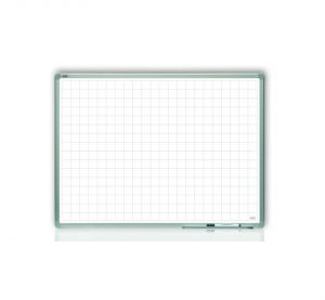 Produkt Magnetická plánovacia tabuľa s rastrom 90×60 cm