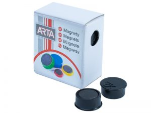 Produkt Sada 10 ks magnetov, priemer 16 mm, 7 farieb
