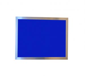 Produkt Modrá magnetická kriedová tabuľa PREMIUM v chromovom ráme