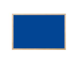 Produkt Modrá magnetická kriedová tabuľa v prírodnom drevenom ráme