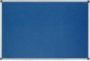 Produkt Modrá filcová tabuľa v hliníkovom ráme