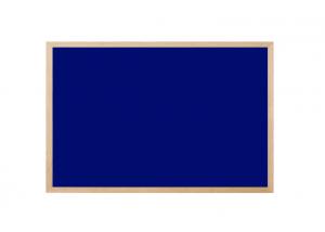 Produkt Modrá magnetická tabuľa v drevenom ráme