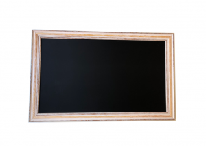 Produkt Čierna magnetická kriedová tabuľa PREMIUM v provensálskom drevenom ráme