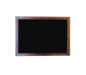 Produkt Čierna tabuľa na magnetky v rustikálnom ráme