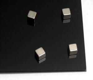 Produkt Sada 4 silných neodymových magnetov – kocky