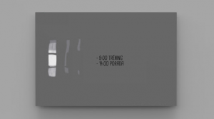 Produkt Sklenená magnetická tabuľa sivá