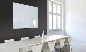 Produkt Sklenená magnetická tabuľa biela