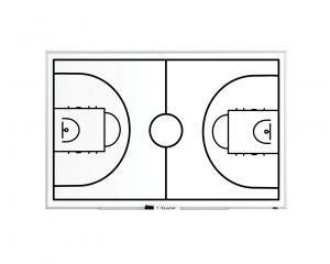 Produkt Trénerská magnetická tabuľa Basketbalová