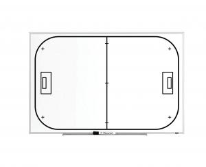 Produkt Trénerská magnetická tabuľa Florbalová