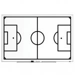 Trénerská magnetická tabuľa Futbalová