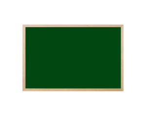 Produkt Magnetická kriedová tabuľa zelená v prírodnom drevenom ráme